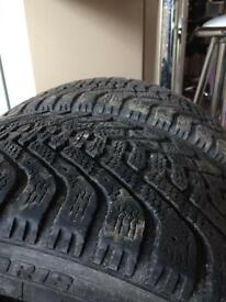 Winter/ all weather tyres 225 40 18