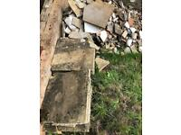 12 FREE Tiles Building Work Tiling Garden Thick Paving Slabs Construction