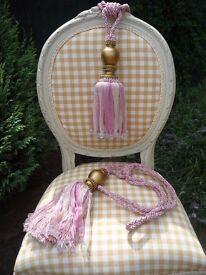 Bead & Ribbon Tassels - Asst colours