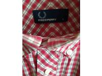 Fredperry large shirt