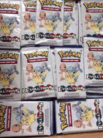 Pokemon TCG XY Evolutions Sample / sampling Packs x 20 packs New Sealed