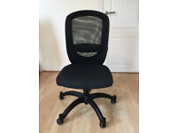 Ikea Vilgot Black Office Chair