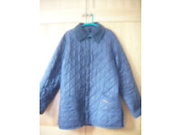 BARBOUR LIDDESDALE QUILTED JACKET Navy Blue SMALL S