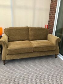 2 JOHN LEWIS MADE TO ORDER 2 SEATER SOFAS