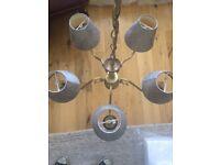 5 arm pendant/chandelier
