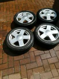 Ford feista alloys and tyres