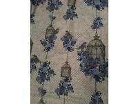 King size duvet cover birdcage vintage