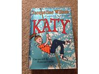 Jacqueline Wilson Katy hard back book Excellent condition only £1