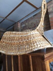 Rattan Chair from IKea, good condition, suit sitting room or bedroom
