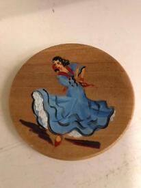 Little wood plate