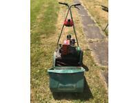 Qualcast Suffolk punch petrol lawnmower