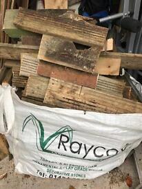 1 tonne bag of firewood, dry wood ,logs for wood burner