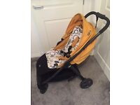 Mamas & papas Armadillo pushchair in ochre can use from birth latest model vgc 6 months old