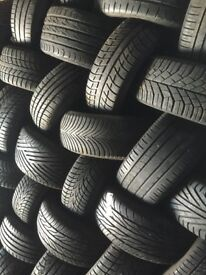 PARTWORN & NEW TYRES R US..... £10 fitted