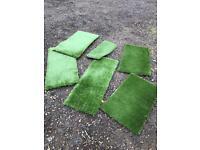 Carp fishing reel mat