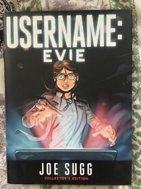 Username Evie Book by Joe Sugg