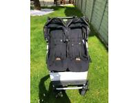 Mountain buggy duet with carrycot attachment