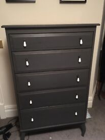 Tall grey chest of drawers ikea