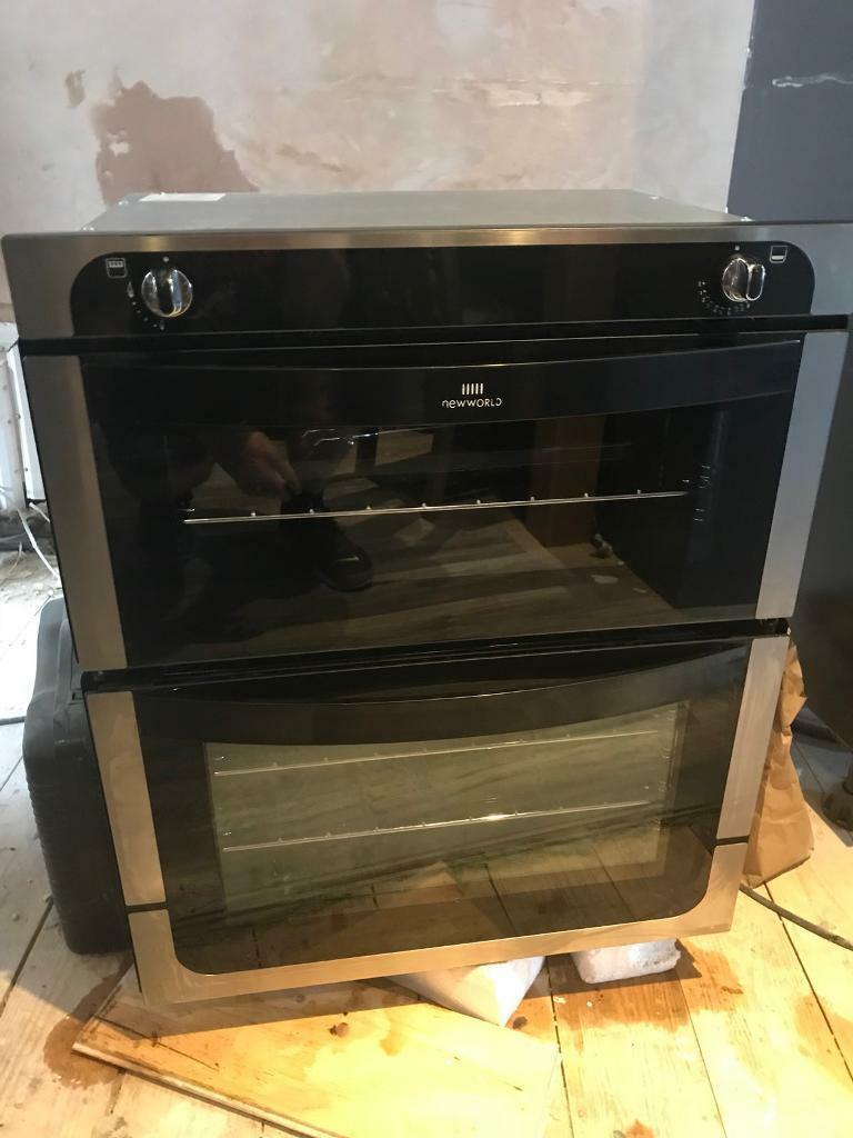 New world integrated gas oven and grill