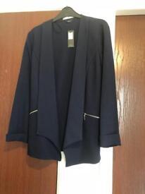 M&Co navy blazer New
