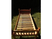 Single bed frame only, good condition