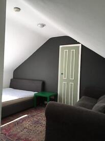 Large Double Attic Room in Friendly House. Available until September