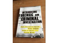 Introducing Forensic and Criminal Investigation - Jane Monckton- Smith
