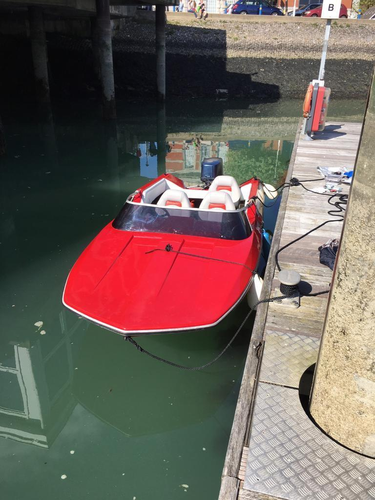 Plancraft stingray 14ft speed boat in southampton for Plan craft