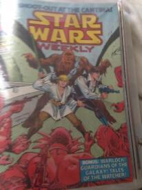 1970s classic vintage Star Wars comics x 15
