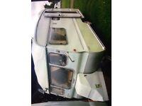 Vintage Retro 2 berth Avondale Mayfly caravan
