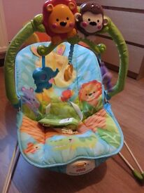 Fisher-price baby boubcer