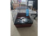 Rodent Cage 80 x 50 x 45 cm w/ wheel