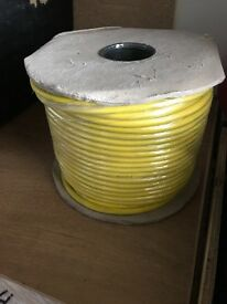 100m of yellow site cable