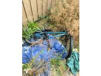 Bmx united blue frame - project please read