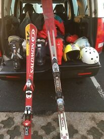 Skis and ski equipment for sale