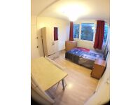 ***2 SPACIOUS SINGLE ROOMS WITH DOUBLE BED -ALL INCLUSIVE***