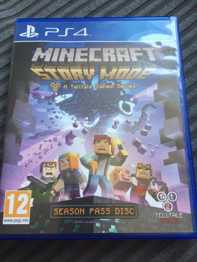 Minecraft story mode PS4 | in Torquay, Devon | Gumtree