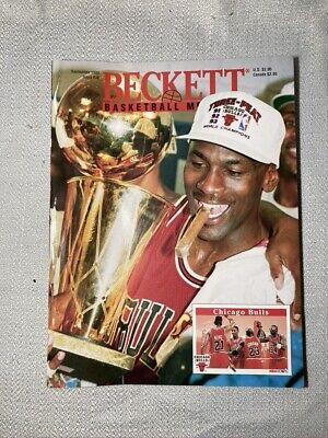Michael Jordan on Cover Becketts NBA Basketball Price Guide September, 1993