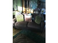 Lovely Extra Large Brown 2 Seater Sofa By Sofa Workshop. Excellent Condition. Can Deliver.