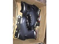 Salomon st ten aggressive skates! Worn once no visible marks! £100 ono