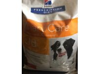 Dog food - Hills prescription 12kg