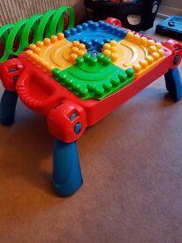 Mega Blocks Building Table