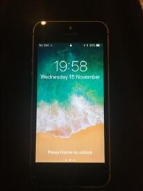 IPHONE 5S 32G UNLOCKED SPACE GRAY like new