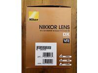 Nikon Nikkor Lens AFS DX 18-55 mm f/3.5-5.6G VR