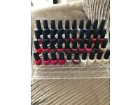 40 OPI nail polishes
