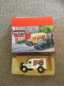 Collectors car/van Yorkshire tea