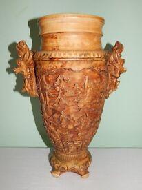 Big and Heavy Oriental Vase 41 cm high ca. 6KG