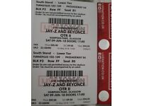 2 Beyonce jayz seating tickets