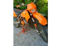 Ktm 250 exc full logbook and service history