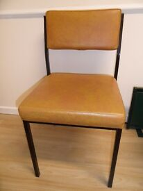 Remploy padded chairs x2